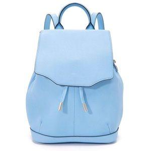 RAG & BONE Light Blue Mini Pilot Backpack